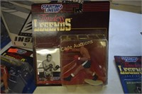 Starting Lineup Timeless Legends Figurines lot of