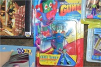 Mixed toy lot- Puzzles, Dolls' Gumby
