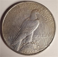 "1922 ""D"" - SILVER PEACE DOLLAR (43)"