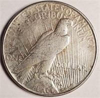 "1923 ""D"" - SILVER PEACE DOLLAR (47)"