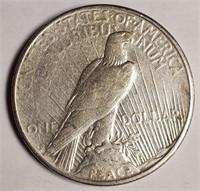 "1922 ""S"" - SILVER PEACE DOLLAR (51)"