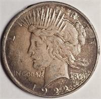 1922 - SILVER PEACE DOLLAR (61)