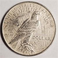 1924 - SILVER PEACE DOLLAR (55)