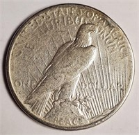 "1926 ""S"" - SILVER PEACE DOLLAR (56)"