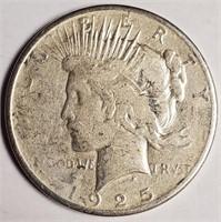1925 - SILVER PEACE DOLLAR (57)
