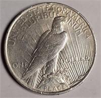 1923 - SILVER PEACE DOLLAR (58)