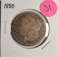 1880 - MORGAN SILVER DOLLAR (31)