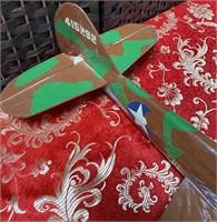 11 - GREEN CAMO STAR MODLE AIRPLANE (5)