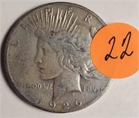 1926 - PEACE SILVER DOLLAR (22)