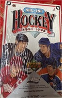 N - LOT OF 5 BOXES OF HOCKEY COLLECTOR CARDS (G)