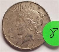 1923 - PEACE SILVER DOLLAR (8)