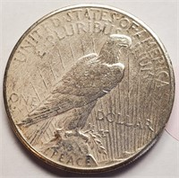 1926 - PEACE SILVER DOLLAR (9)