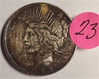 1923 - PEACE SILVER DOLLAR (23)