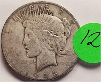1923 - PEACE SILVER DOLLAR (12)