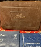 N - HUGE LOT OF EMPTY COIN BOOKS (B13)