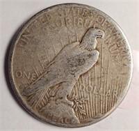 1922 - PEACE SILVER DOLLAR (25)