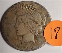 1922 - PEACE SILVER DOLLAR (18)