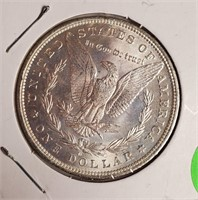 "1882 ""O"" - MORGAN SILVER DOLLAR (39)"
