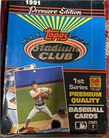 N - LOT OF 4 BOXES OF COLLECTOR BASEBALL CARDS (O)