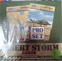 2 BOXES OF GOLF; DESERT STORM & LOONEY TUNES CARDS