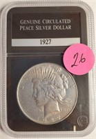 1927 - PEACE SILVER DOLLAR (26)
