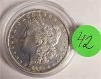"""1882 """"O"""" - MORGAN SILVER DOLLAR (42)"""