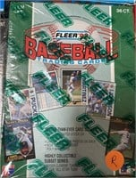N - LOT OF 4 BOXES OF BASEBALL CARDS (R)