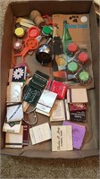 Lot of Bar Ware, Bottle Openers, Lighters & Trays