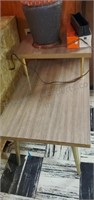 Vintage Side Table Match To Lot 235 contents not