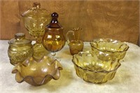 Lot of Glass Jars & Bowls