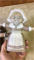 Ceramic Thanksgiving Figures