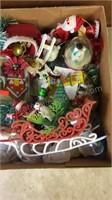 Box lot of Vintage Christmas