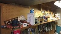 Contents of basement Shelf