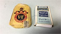 Collectible Cigarette Packs
