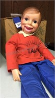 Willie Talk Doll (Mouth stuck Open)