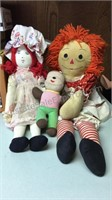 Raggedy Anne & Other Dolls