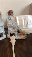 Lot of China Figurines & More
