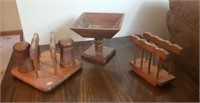 Wooden Table Accessories