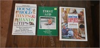 2 Reader's Digest Tip Books and First Aid Book