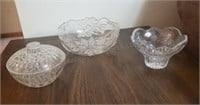 Crystal Etched Bowls
