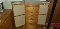 Tall  Jewelry Box (Wood and Pressboard)