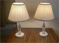 2 Leviton Tabletop Lamps