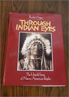 "Reader's Digest ""Through Indian Eyes"" Hard Cover"