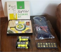 Golf Club Cleaning Kit and Accessories