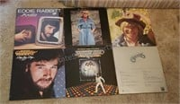 Lot of (6) LP Records