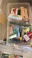 Tote of Craft Supplies