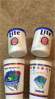 Lot of Tigers Cups, Patch & Water bottle