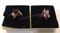14K Gold Plated Rings