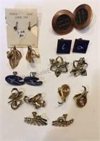 Lot of Clip on & Screw Type Earrings