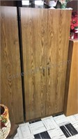 Locking Pressboard Cabinet buyer must Remove from